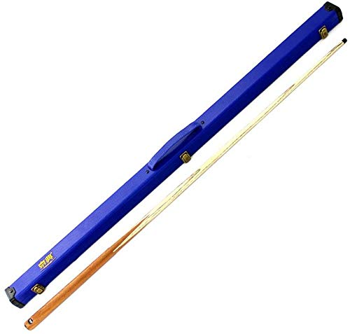Children's Pool Cues, 1.2M Mini Add Weight Handmade Ash Snooker Cue with Cue Case Pool Cue
