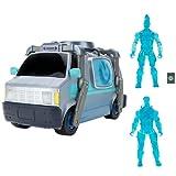 Fortnite- Característica Deluxe Reboot Van, vehículo electrónico con Dos Figuras articuladas de 10 cm (Etapa 1) y reiniciar el recluto Jonesy y Accesorios, Multicolor (Jazwares FNT0897)