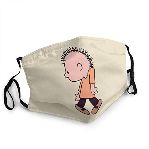 QINGQ Charlie Brown Adult Dust Ma-sk Windproof Face Protection Mouth Cover Bandana Scarf Facial Decoration Unisex 1 PCS