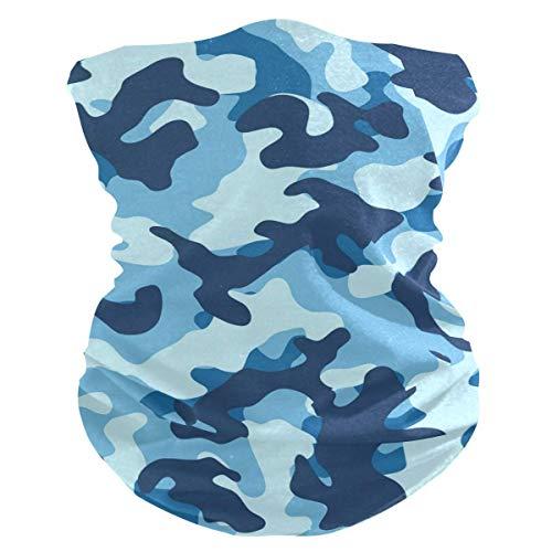NA Couvre-Chef,Eau De Mer Camouflage Balaclava Bandeau Bandana Neck Warmer Chapeaux Chapeaux pour Adultes Unisexe Football Ride Snowboard,25X50cm