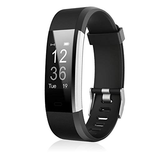 Bubbry ID 115HR Plus Smart Wristband Sport Smart Band Fitness Tracker met hartslag