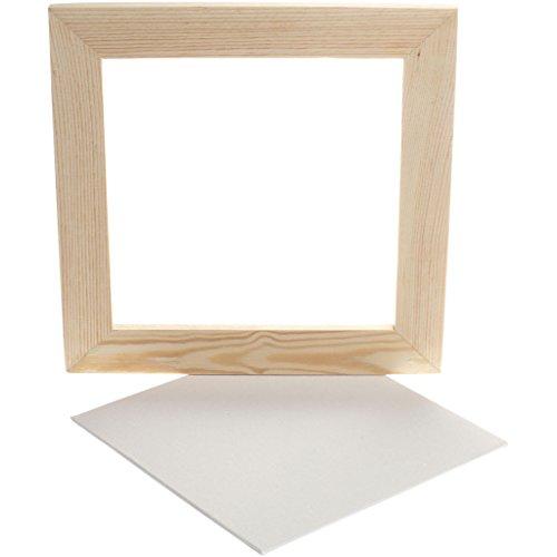 Creativ Company - Canevas con marco, 25 x 25 cm, 1 unidad