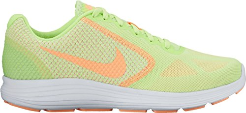 Nike WMNS Revolution 3 - Ghost Green/Sunset Glow-White-, Größe #:5