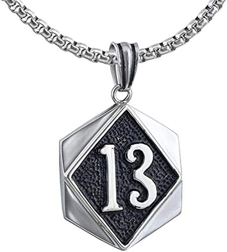 Yiffshunl Necklace Men S Women Retro Personality Fashion Charm Necklace Gothic Men S Stainless Steel Necklace