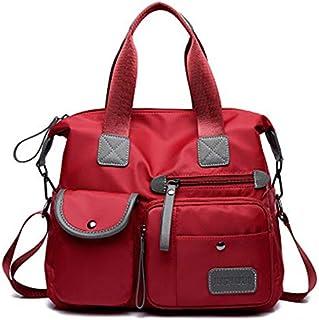 Nylon Fashion Tote Bag Multifunctional Bag Travel Bag Mummy Diaper Bag Multi Pocket Lightweight Cross-body Bags Baby Backp...