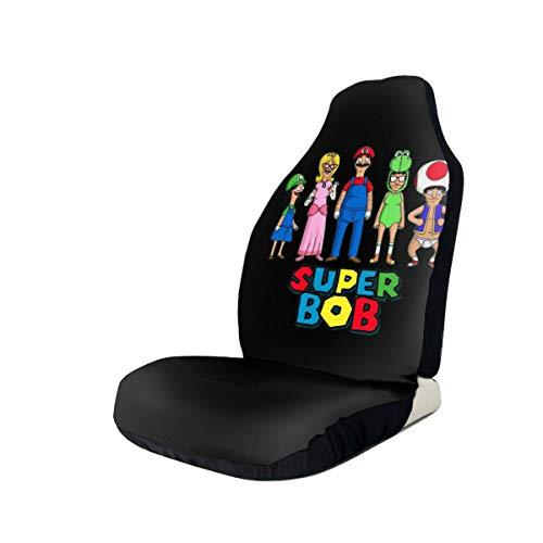Dxddsdks Bob Burgers Fashion Car Seat Covers Easy Install Remove Soft Comfortablr Decorative Protector Fits Most Cars Trucks Vans SUV Front Seats 2 PCS