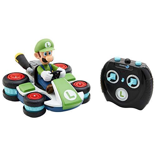 Nintendo Mario Kart 8 Luigi Mini Anti-Gravity RC Racer 2.4Ghz, con dirección de función Completa CREA 360 giros, Mientras Que la Deriva! - Alcance de hasta 100 pies - para niños a Partir de 4 años