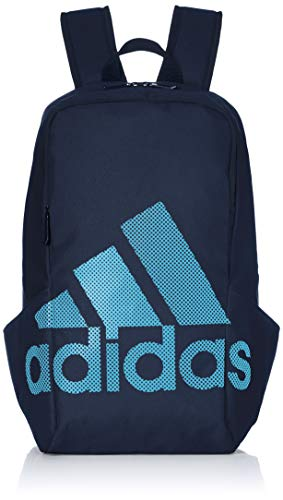 adidas Parkhood Bos Backpack, Hombre, Multicolor (Collegiate Navy/Shock Cyan), Talla Única