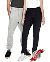 Underhood of London Navy Blue Jogger Pants for Men | Organic Cotton Mens Yoga Sweatpants | X-Small