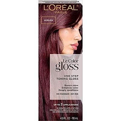 L'Oreal Paris One Step Toning Hair Gloss, Le Color Gloss Copper, 4 fluid_ounces