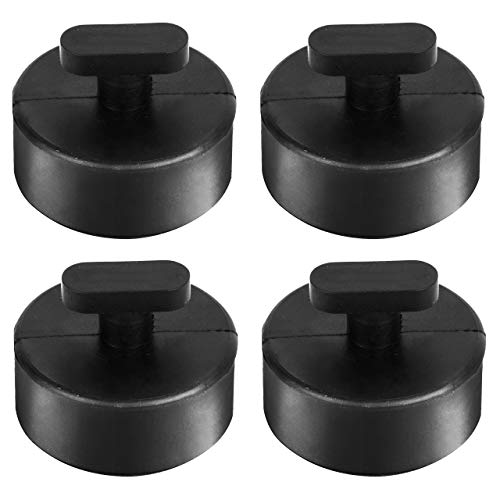 DEDC 4 Pack Jack Pad Jacking Lift Pad for Chevrolet Corvette C5 C6 C7, Jack Point Pad Sturdy Adapter Rubber Jack Puck