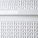 KADAX Kosmetikeimer aus Kunststoff, Abfalleimer mit Schwingdeckel, Abfallbehälter, Mülleimer für Bad, Küche, Leichter Schwingdeckeleimer, Badeimer, Inneneimer (5L, weiß) - 3