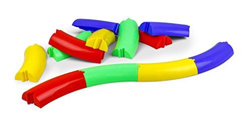 Vinex Bunte Balanciermauer - 12-teilig - mit Vier Farben