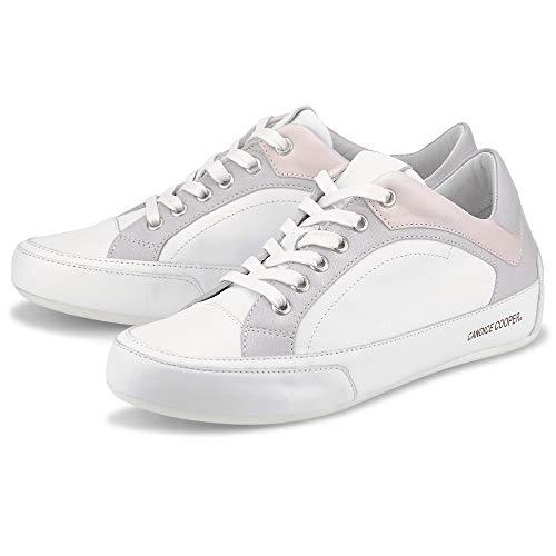 Candice Cooper Damen Sneaker Divine Weiß Glattleder 39