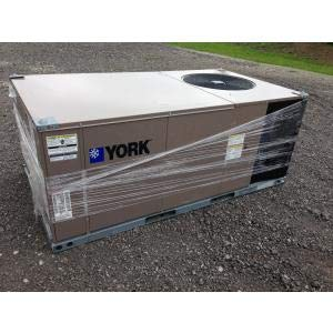 York ZE036C00B2A1AAA1A1 3 TON Convertible Packaged AIR Conditioner Unit, 14 SEER 208-230/60/3 R-410A