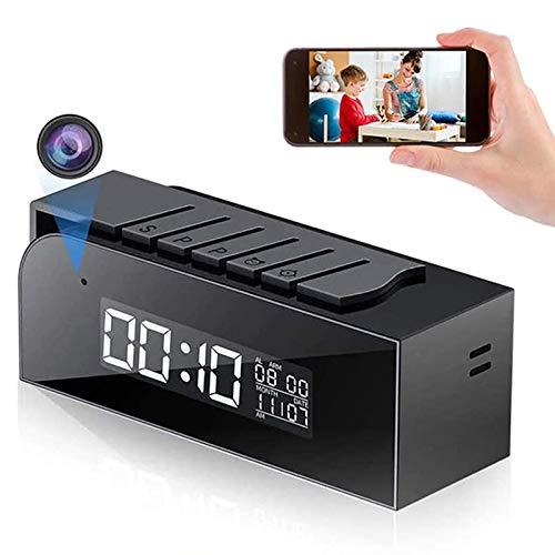 Reloj inteligente Tuya, cámara IP de detección de movimiento oculta WIFI inalámbrica,...
