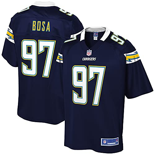 NFL PRO LINE Men's Joey Bosa Navy Los Angeles Chargers Logo Player Jersey