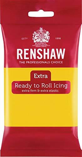 Renshaw Extra Fondant Gelb 250g