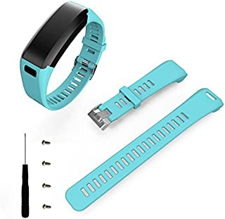 HWHMH Silicone Replacement Strap Bands for Garmin Vivosmart HR Fitness Watch