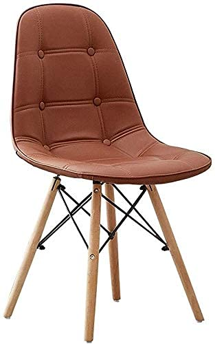 NUANYANG Dining Chair Kitchen Dining Chairs Counter Lounge Leisure Living Room Corner Stool Leather Restaurant Makeup Reception Office Dormitory Compu