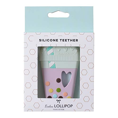 Loulou Lollipop(ルルロリポップ) シリコン歯がため【日本正規品】おしゃぶり おもちゃ ラズベリー LL-T-TAROTEA