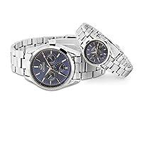 QTMIAO 美しいCHEN XI時計 Chenxiブランドのカップルは、防水発光ペア時計腕時計の男性と女性が006Bを見る (Color : 3)