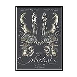 ADNHWAN Posters ¡Madre!2017 película película Javier Bardem Cartel artístico Lienzo Pintura decoración del hogar regalo-50X70 cm sin Marco 1 Uds