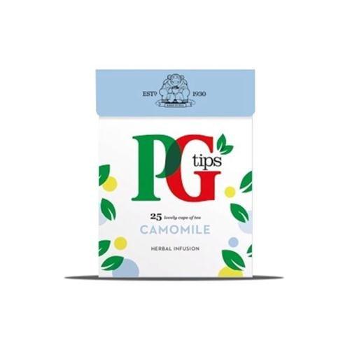 PG Tips Bolsitas de té de manzanilla Envuelta Ref 49095901 Paquete de 25 152907