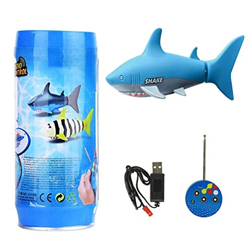 Great Price! Uscyo Robo Fish, Remote Controlled Boats Kids Shark, Mini RC Fish, Electric Shark Water...