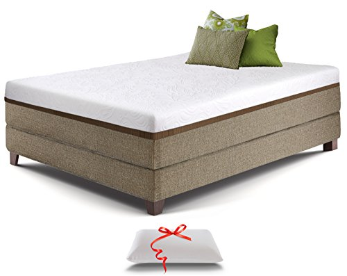 Live & Sleep Ultra Queen Mattress, Gel Memory Foam Mattress, 12-Inch, Cool Bed in a Box, Medium-Firm...