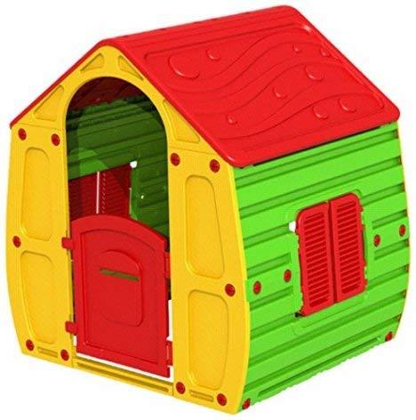Coil Speelhuisje voor kinderen, tuinhuis, speelhuisje, kunststof C10561B