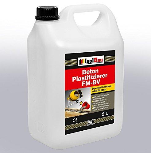 5 Liter Beton Plastifizierer Zusatzmittel Betonverflüssiger Fließmittel Betonverflüssiger FM-BV