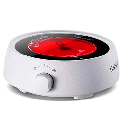 Estufa de cerámica eléctrica Estufa de té para el hogar 800W Mini fabricante de té pequeña estufa de café Pequeño uso silencioso y duradero en utensilios de cocina de cocina adecuados, como la olla de