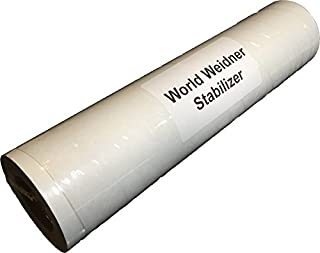 World Weidner Self-Adhesive Sticky Peel N Stick Tear Away Embroidery Stabilizer Backing 8