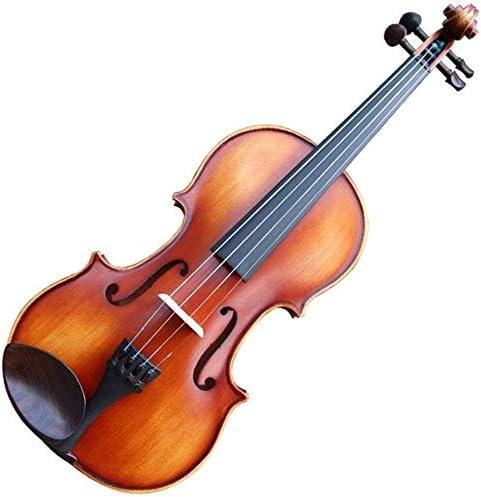 Acoustic 5 ☆ very popular Violin fiddle Handmade Wood Solid SALENEW very popular! Violi Beginner