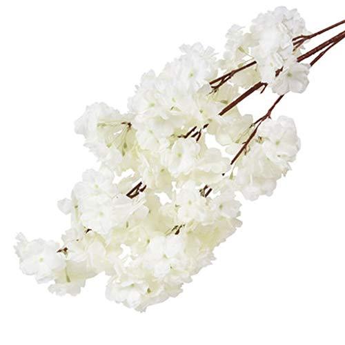 WGZ Kunstbloemen voor het decoreren van kersenbloesems, kunstbloemen, kersenbloesems, grote decoratie