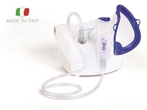 Nuvita 5020A Aerosol portatile per bambini ed adulti. Estremamente silenzioso. Prodotto in Italia. Ricambi Disponibili