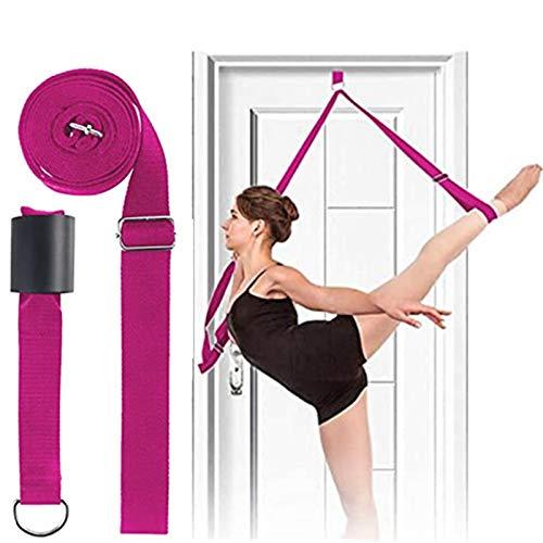 Banda elástica para bailarín, flexibilidad de la puerta y estiramiento de la pierna banda elástica para yoga, ballet, danza y ejercicio de gimnasia, excelente regalo para tus amigos y seres queridos.