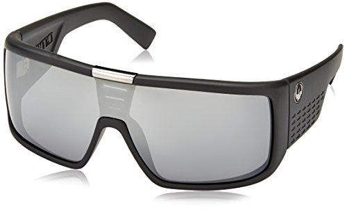 Gafas De Sol Dragon Domo Matte Negro-Plata Ionized (Default , Negro)