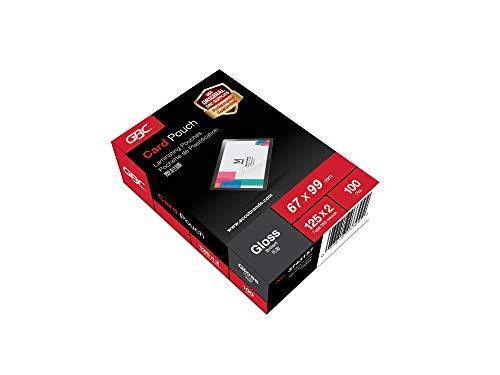 GBC 3743177 - Fundas de plastificación (100 unidades, para identificador de 67 x 98,5 mm, 250...