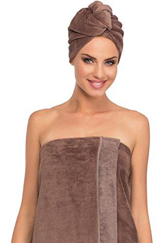 Merry Style Femme Turban 13007 (Marron/Marron, One Size)