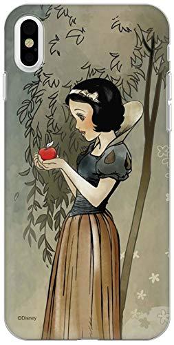 Carcasa Original de Disney Blancanieves y los Siete Enanos TPU para iPhone XS MAX, Funda de Silicona líquida, Flexible y Delgada, Protectora para Pantalla, a Prueba de Golpes y antiarañazos