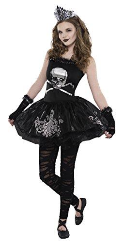 Bailarina de disfraces de Halloween del adolescente oscuridad - de 14 a 15 años