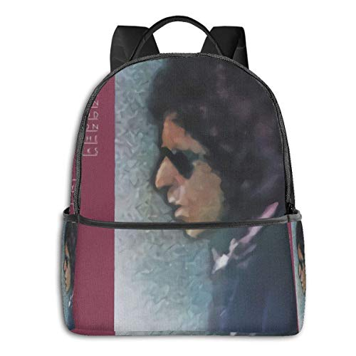 Zaino per laptop Bob Dylan Blood On The Tracks Zaino scuola a tema moda