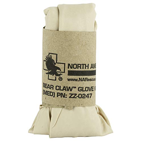 North American Rescue ZZ-0248 Bear Claw Large Nitrile Glove Kit