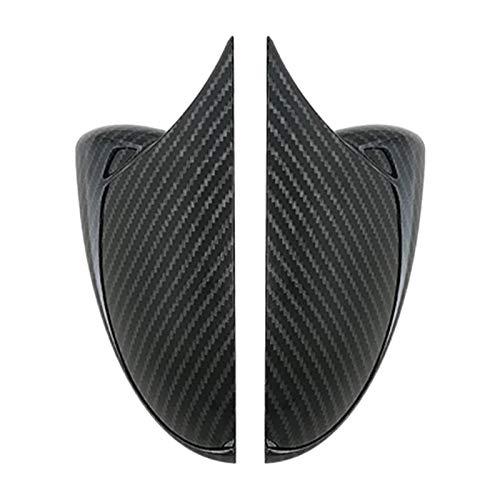 CCHAO Ajuste para KIA Forte K3 CERATO 2019 2020 Retroview Espejo de Espejo Recortar Vista Trasera Espejos Cubierta Pegatina Piezas de automóviles Estilo de automóvil (Color Name : Black, Size : M)