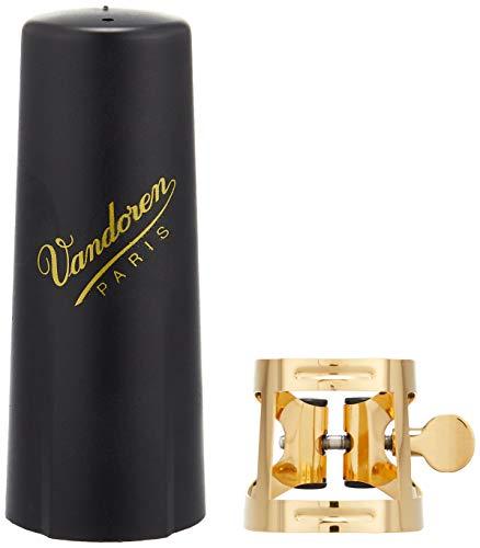 Vandoren LC57DP - Abrazadera para saxofón alto, color dorado