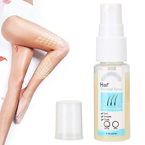 20 ml Hårborttagning Återfuktande spray Hårborttagningsundertryckande Hud Kroppsvård Avlägsnande Lösning för ansikte Arm Armhåla Ben Underarm Gör din hud slät