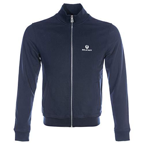 Belstaff Classic Zip Through Sweatshirt in Navy