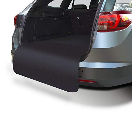 achilles Ladekanten-Schutz Kofferraum-Matte Hunde-Decke Stoßstangen-Kratzschutz Auto-Schondecke Schwarz 100 cm x 70 cm